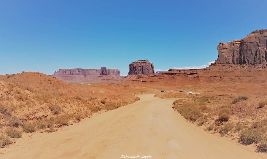 visitare la Monument Valley